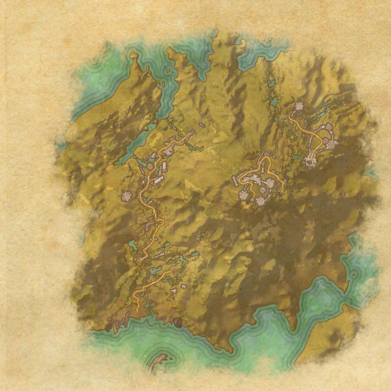 A map of Tempest Island