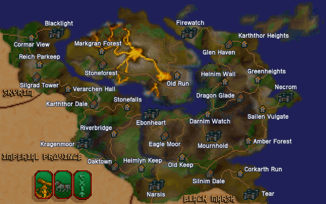 Map of Morrowind