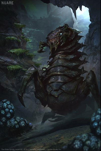 http://images.uesp.net//thumb/0/04/LG-cardart-Chaurus_Reaper_02.jpg/401px-LG-cardart-Chaurus_Reaper_02.jpg