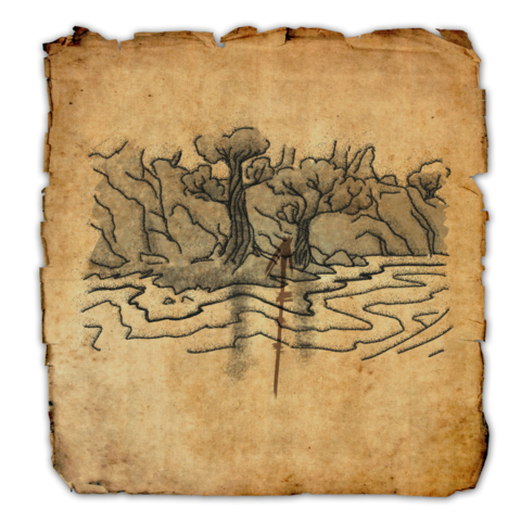 Online:Shadowfen Treasure Map I - The Unofficial Elder Scrolls Pages ...