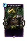 Argonian Recruit