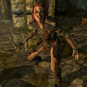skyrim aela the huntress the unofficial elder scrolls pages uesp