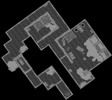 Goldenglow Estate Basement Map