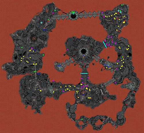 Oblivionrandom oblivion world 1 the unofficial elder scrolls key to map random oblivion world 1 gumiabroncs Choice Image