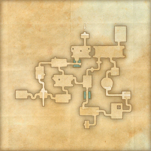 A map of Antediluvian Vaults