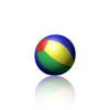 Animated PNG example bouncing beach ball.apng