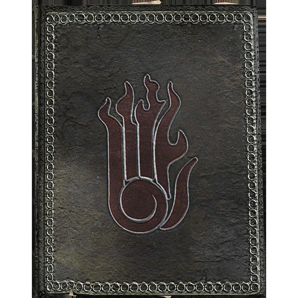 Bir Destruction kitabındaki büyülü K harfi