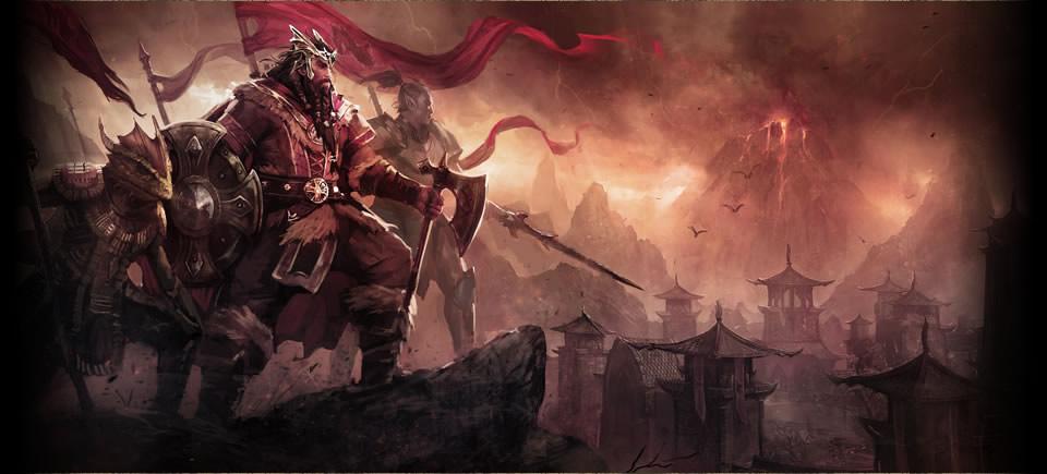 Jorunn ve Ebonheart Pakt ordusu