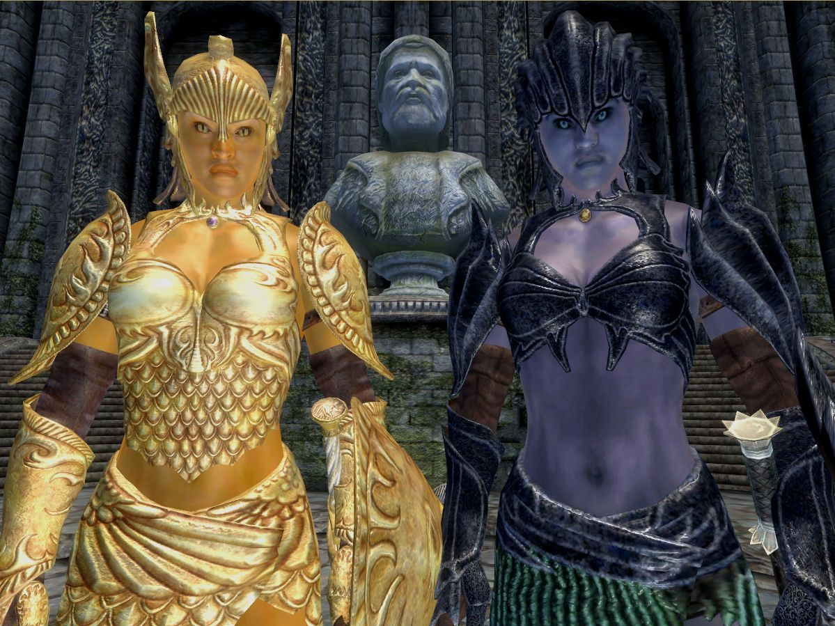 Oblivion porn moives of golden saint guard porn images