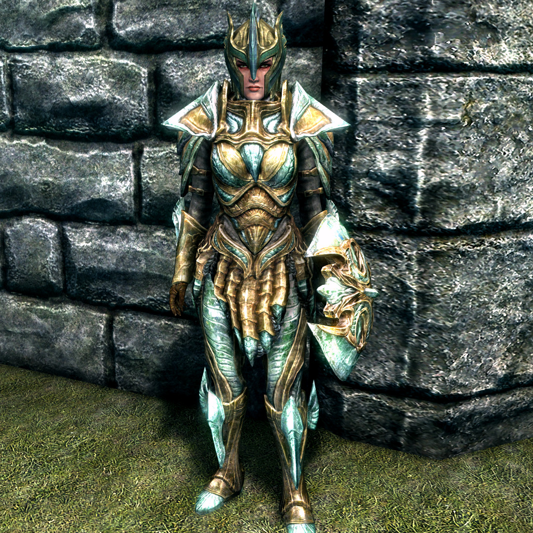 Glass armor, though