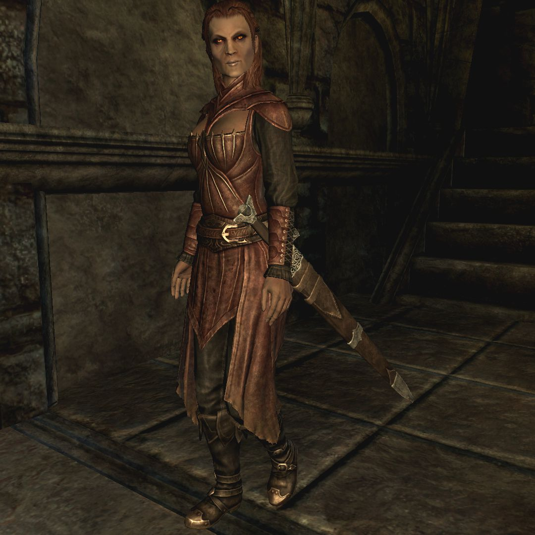 Final, sorry, serana black face seems