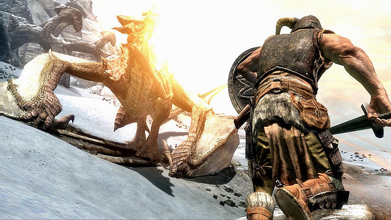 Post Skyrim Screens here - Page 2 800px-SR-DragonFire2_wLegal