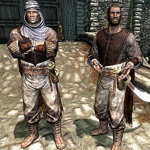 Where is the redguard woman in whiterun