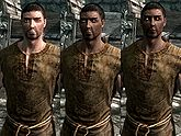 A male Breton, before and after becoming a vampire