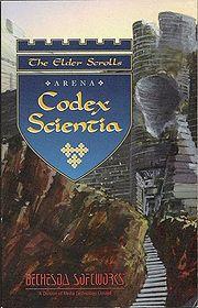 The elder Scrolls Arena: Codex Scientia Complete Book