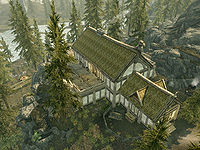 Skyrimlakeview Manor The Unofficial Elder Scrolls Pages Uesp