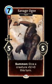legends savage ogre the unofficial elder scrolls pages uesp