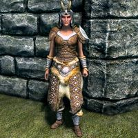 Skyrimadvanced Armors The Unofficial Elder Scrolls Pages Uesp