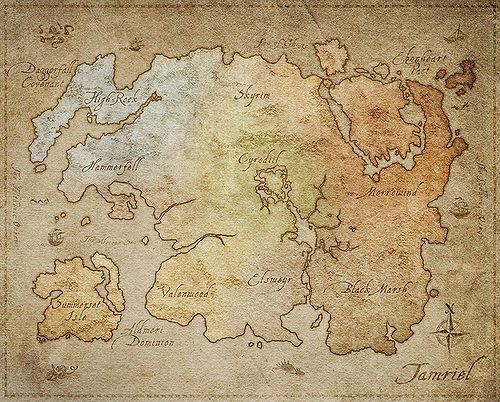 Online:Maps - The Unofficial Elder Scrolls Pages (UESP)