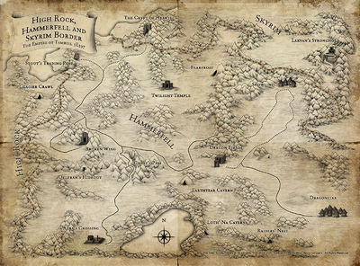 Lore:Maps - The Unofficial Elder Scrolls Pages (UESP)