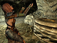 Skyrimaela The Huntress The Unofficial Elder Scrolls Pages Uesp