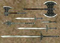 Bloodmoon:Nordic Silver Weapons - The Unofficial Elder Scrolls Pages