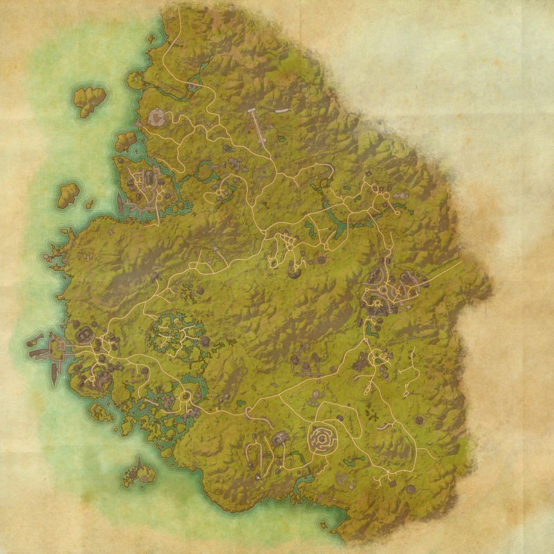 A map of Grahtwood