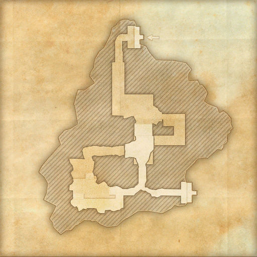 A map of Alessian Tombs