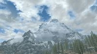 throat of the world map Skyrim Throat Of The World The Unofficial Elder Scrolls Pages Uesp