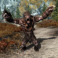 Skyrim:Troll - The Unofficial Elder Scrolls Pages (UESP)