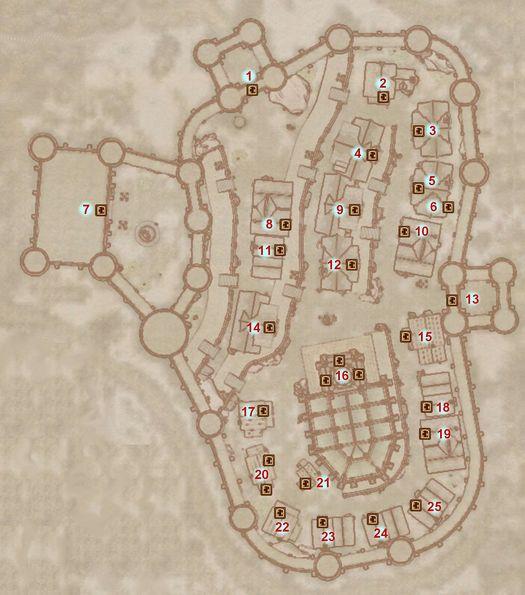 Oblivion Karte.Oblivion Bruma Map The Unofficial Elder Scrolls Pages Uesp
