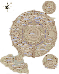 Imperial City Map Oblivion:The Imperial City   The Unofficial Elder Scrolls Pages (UESP)