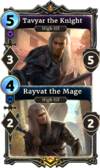 Tavyar the Knight/Rayvat the Mage