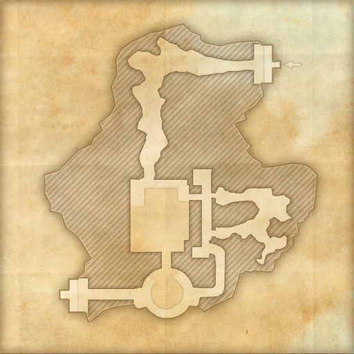 A map of Weaver's Nest