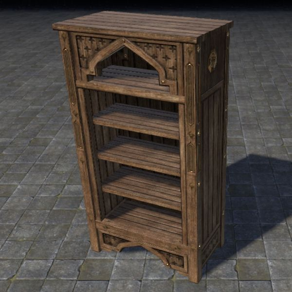 File:ON-item-furnishing-Redguard Bookcase, Arched.jpg