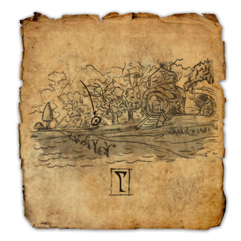 Online:Deshaan Treasure Map V - The Unofficial Elder Scrolls ... on the rift ce treasure map, khenarthi's roost treasure map, stormhaven ce treasure map, bleakrock treasure map, auridon treasure map,