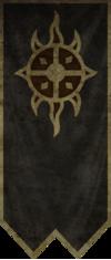 100px SR banner Dawnguard - The symbols of Elder Scrolls Games