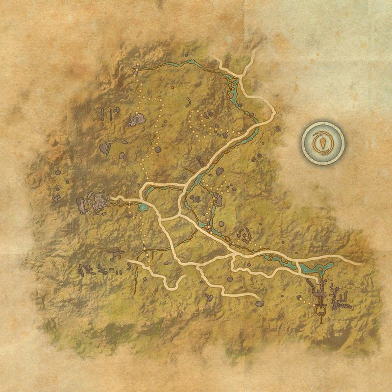 A map of The Reach