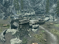Skyrimcracked Tusk Keep The Unofficial Elder Scrolls Pages Uesp