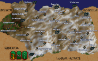 The location of Dunstad Grove in Skyrim